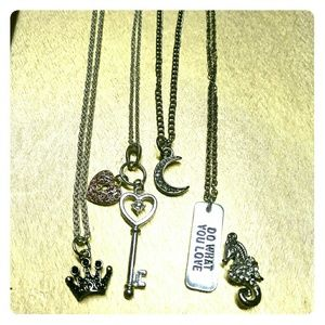 Necklaces and charm